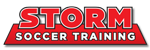 Storm  Soccer Training Logo